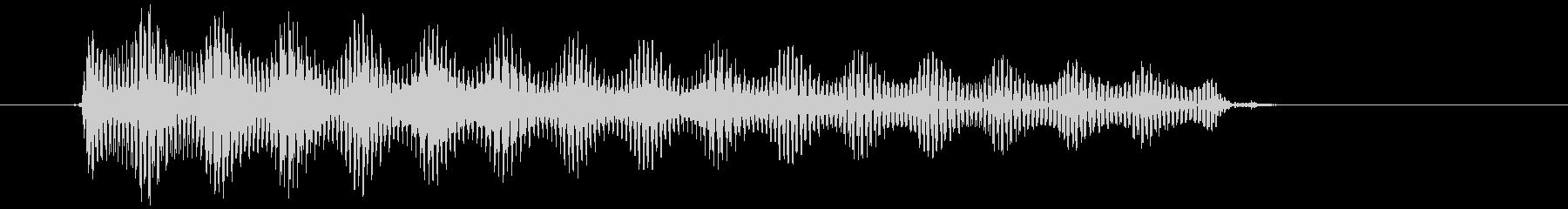 古い印象のギター音#03の未再生の波形