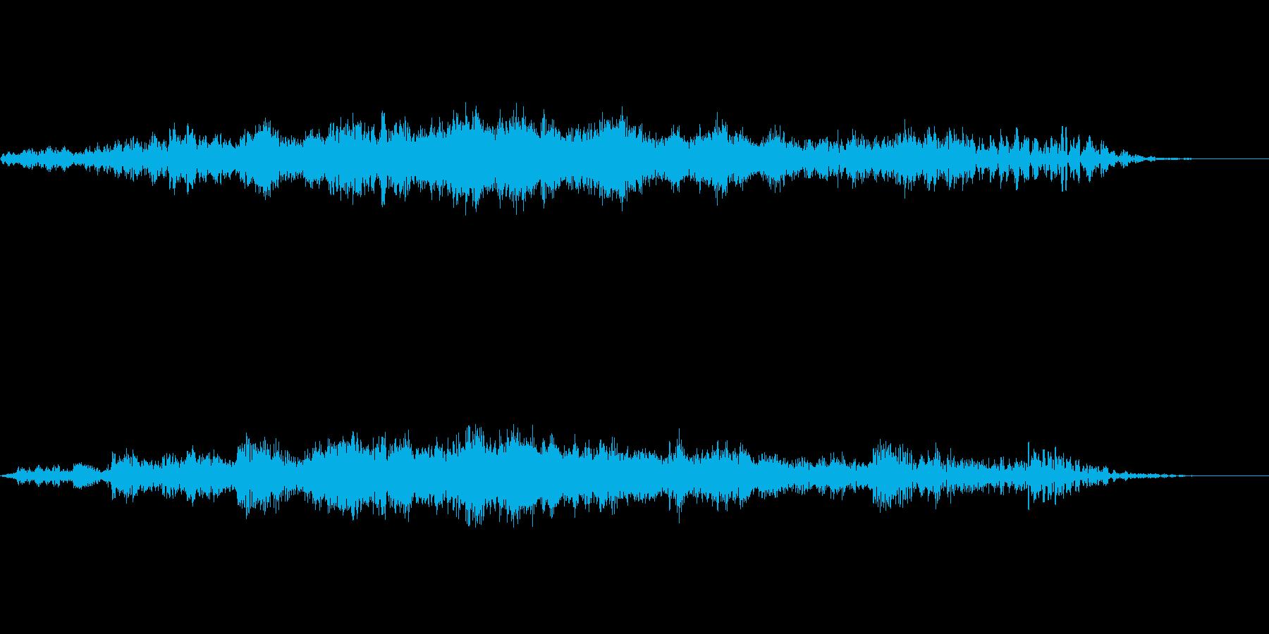 ホラー系の怪奇音、又は心理的効果音 侵食の再生済みの波形