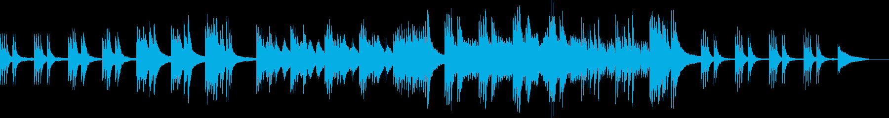 少し重い感じのシンプルなピアノ曲ですの再生済みの波形