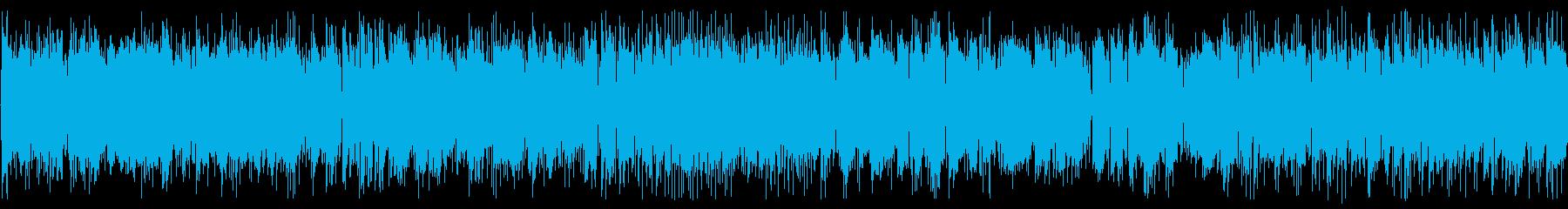 「交響曲第40番 」アシッドジャズの再生済みの波形
