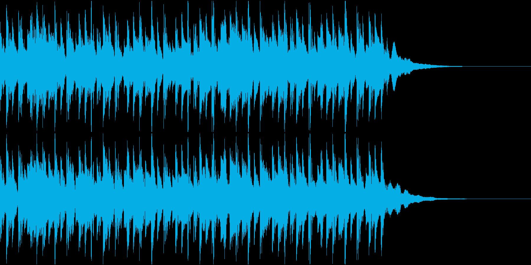 ニュース ラジオ テクノジングル5の再生済みの波形