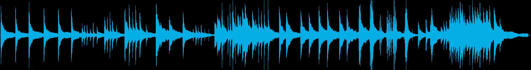 ヒーリングピアノ組曲 ただよう 5の再生済みの波形