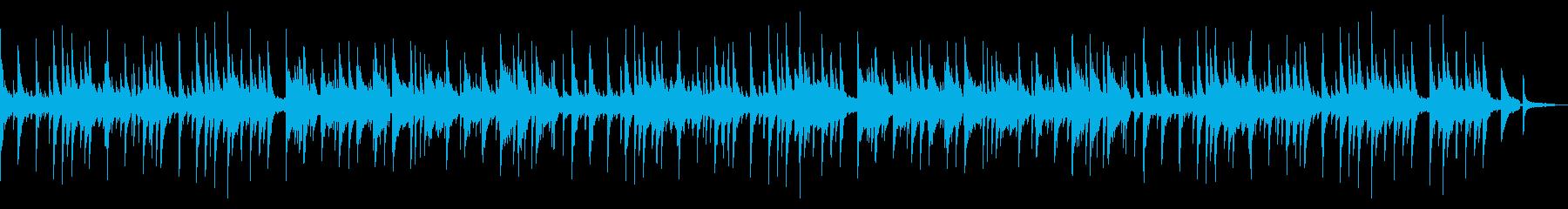 導入/プロローグ ピアノとストリングスの再生済みの波形