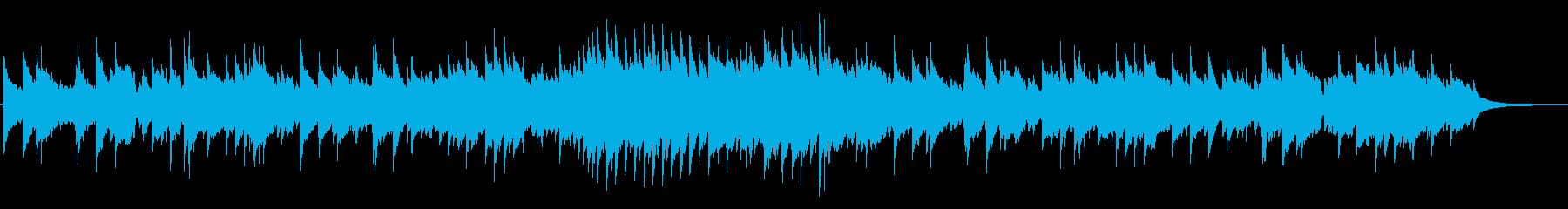 恋 バレンタイン ピアノ キラキラの再生済みの波形