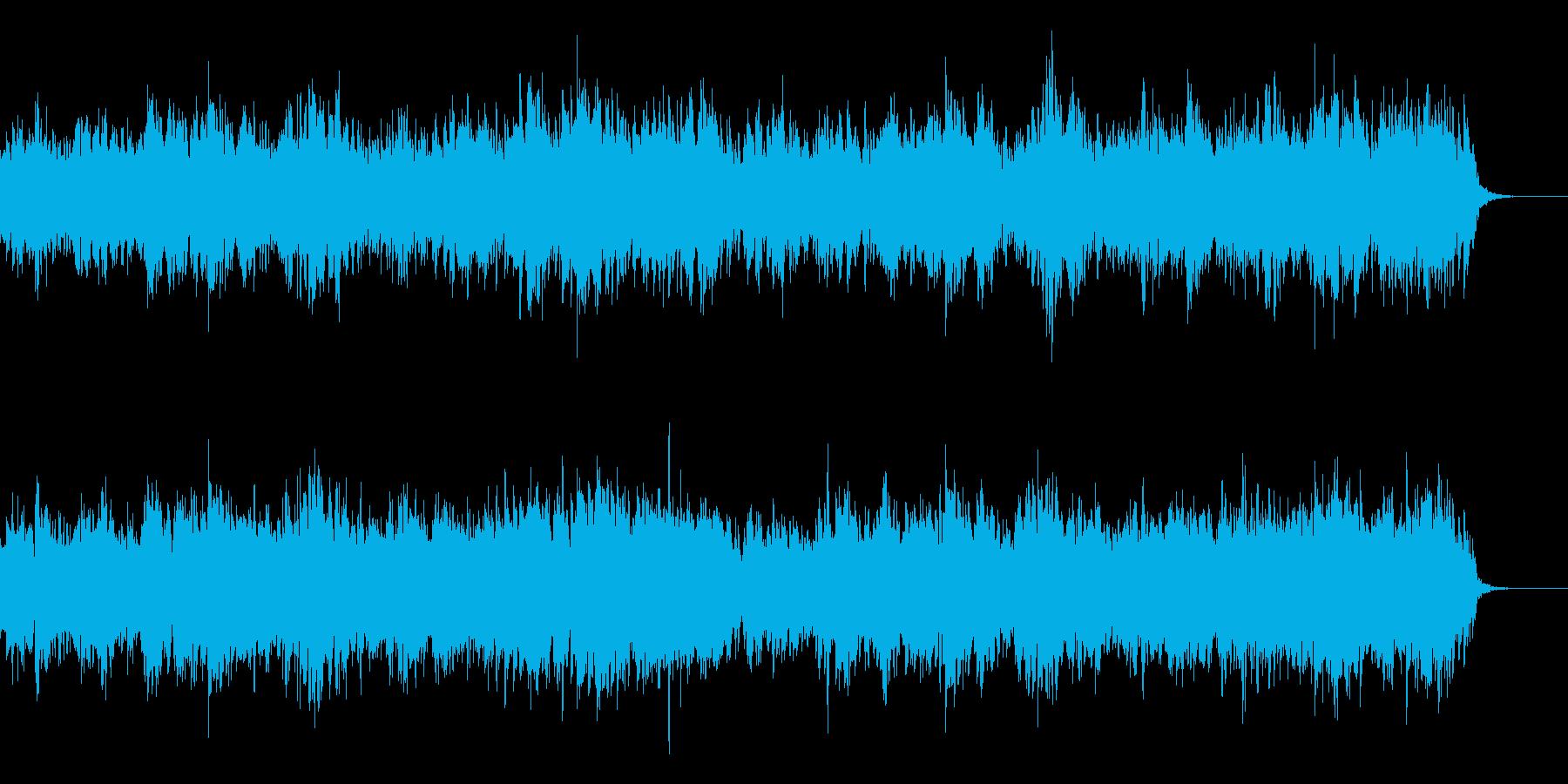 ほのぼのしたオープニングの再生済みの波形