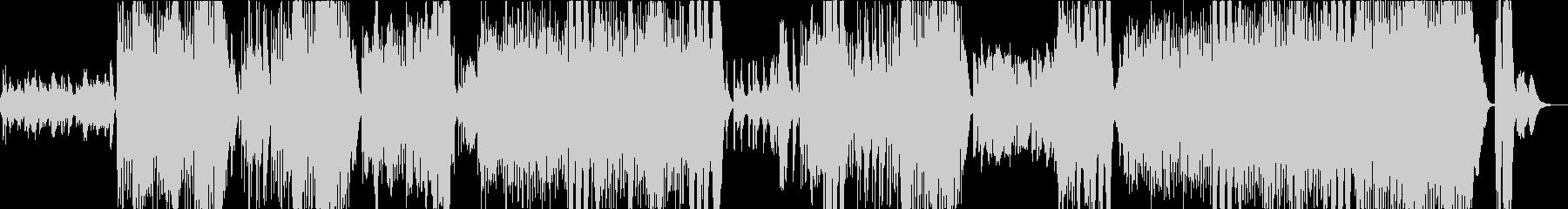 小さな悪魔のワルツの未再生の波形