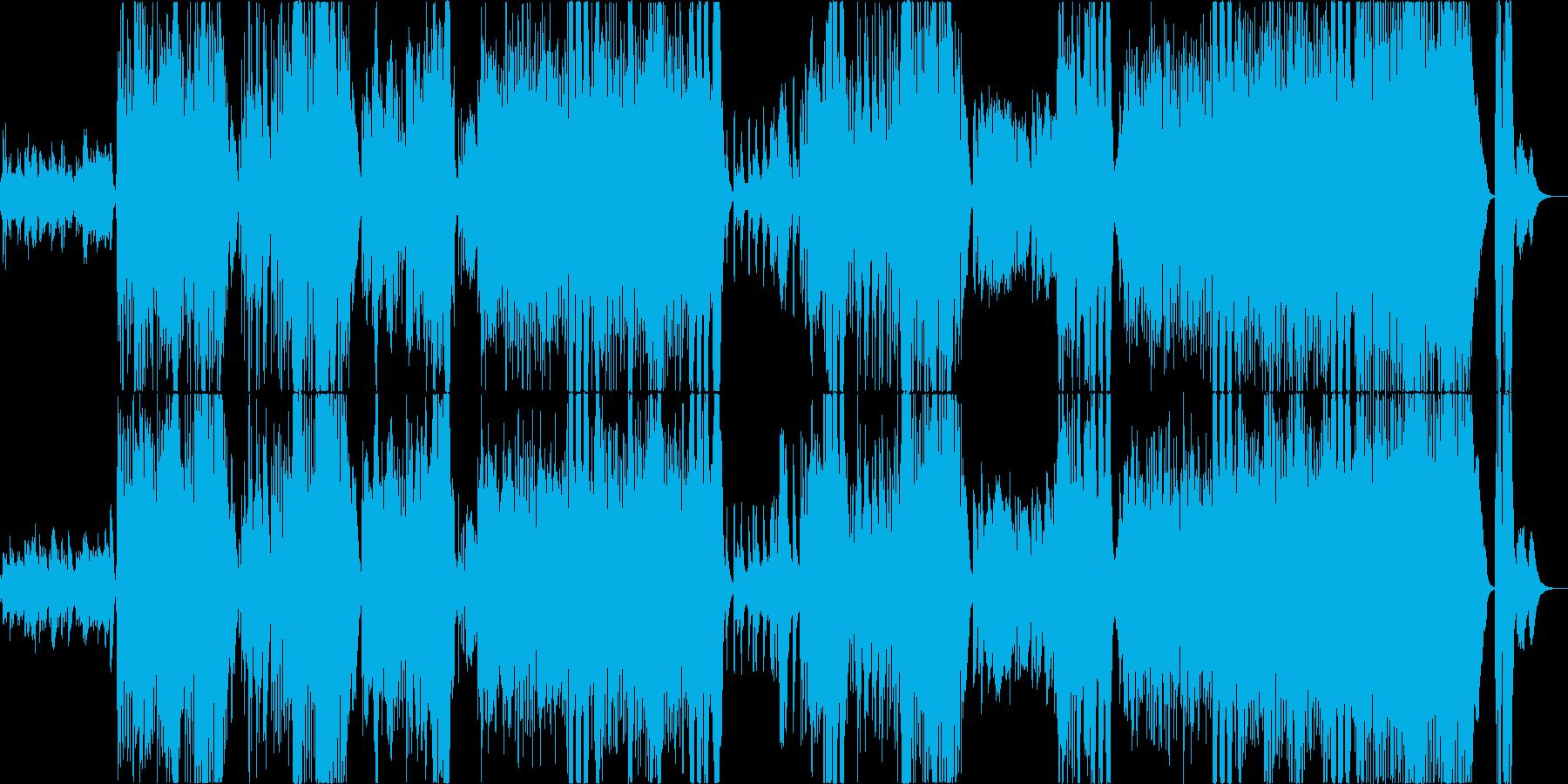 怪しげで楽しいハロウィンイベントの曲の再生済みの波形