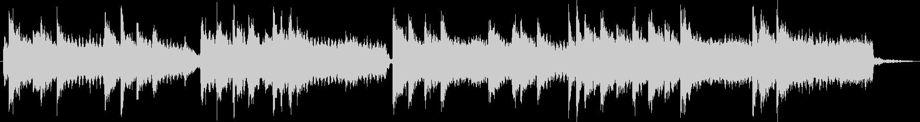 切なく壮大ピアノ/オルガン/ストリングスの未再生の波形