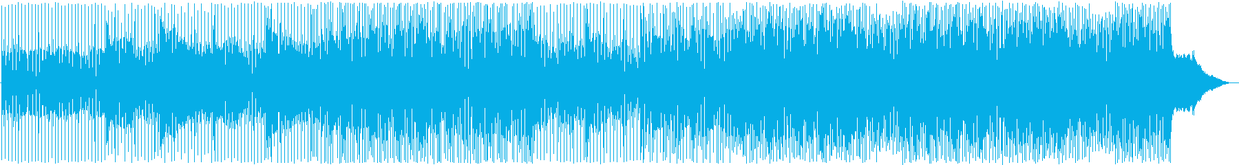 ロック アクション 技術的な お洒...の再生済みの波形