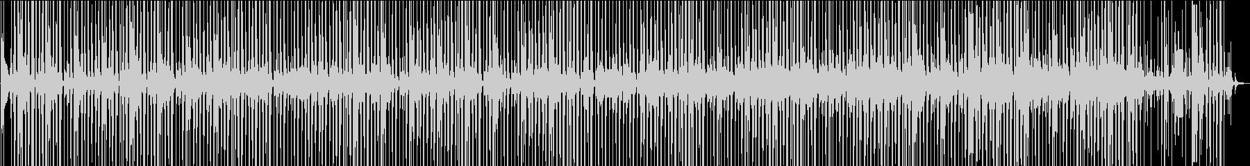 いびつなループ音楽の未再生の波形