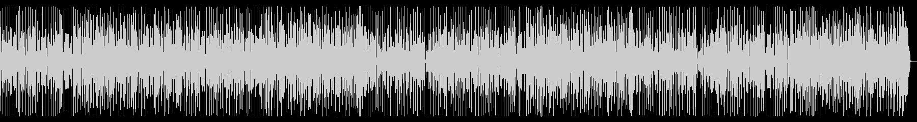 トークのバックにEarthyなファンク1の未再生の波形