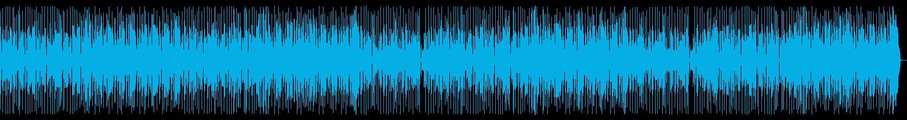 トークのバックにEarthyなファンク1の再生済みの波形