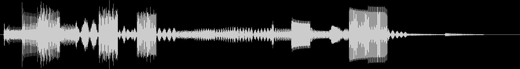 サウンドロゴ(ピコピコ、電子系)の未再生の波形