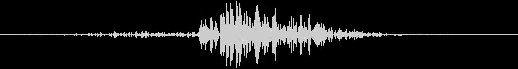 スライディングウッドヒット、フォリーの未再生の波形