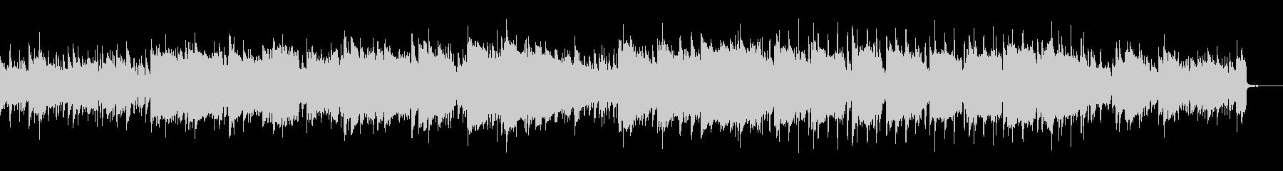 生演奏尺八アコギによる凛とした曲の未再生の波形