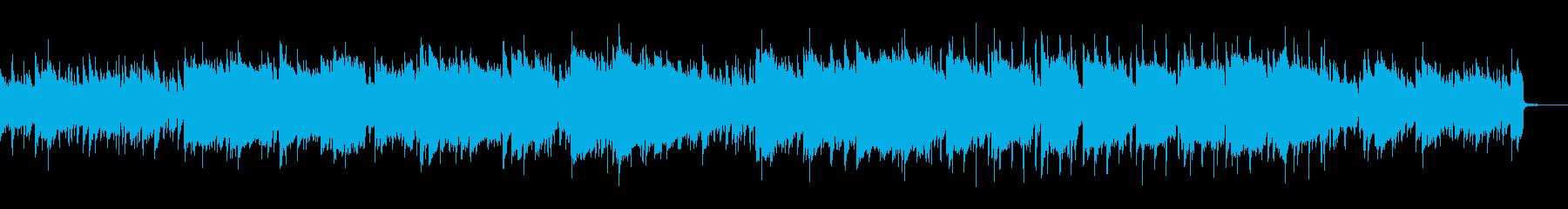 生演奏尺八アコギによる凛とした曲の再生済みの波形