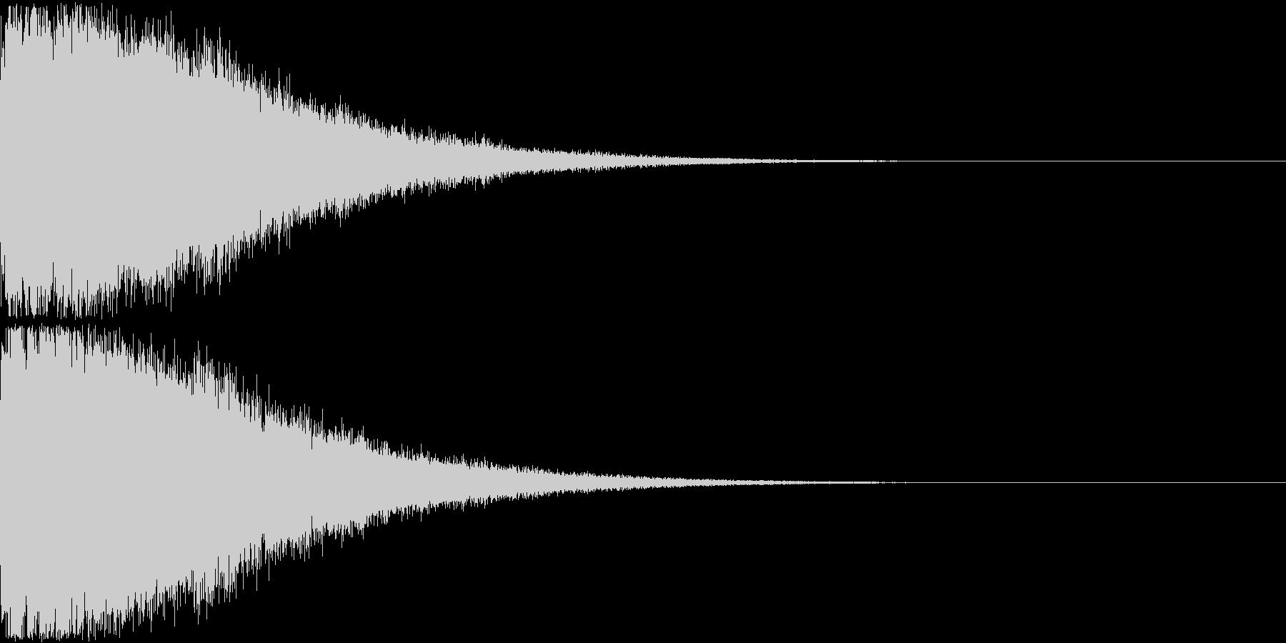 刀 剣 ソード カキーン キュイーン12の未再生の波形