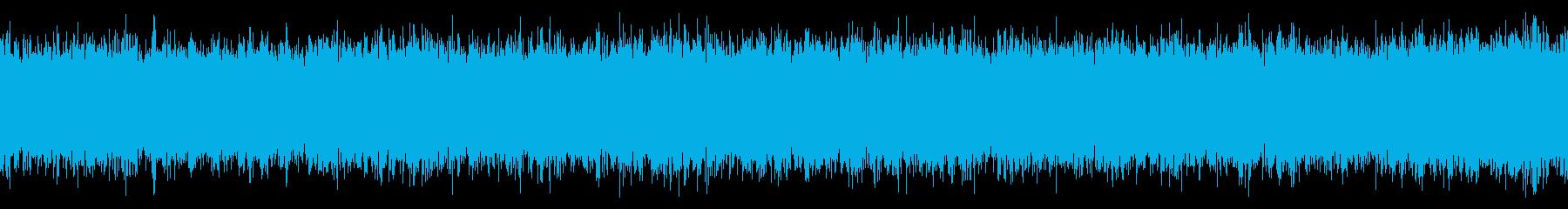 換気扇の音 ファンの回転音 ごー がーの再生済みの波形