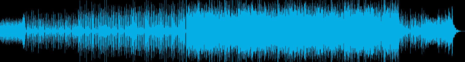高音質♪和風で琴で明るい幻想的空間な曲の再生済みの波形