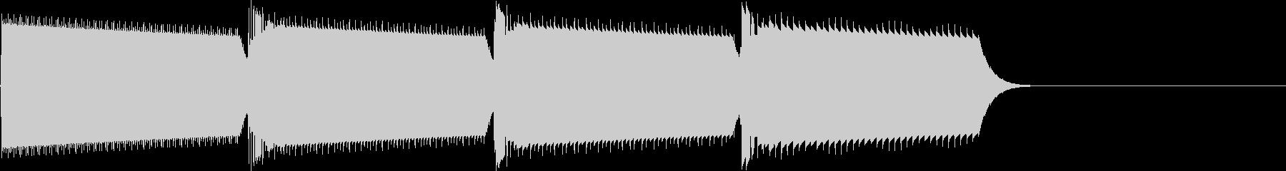 キャンセル音(ピロロロ)の未再生の波形