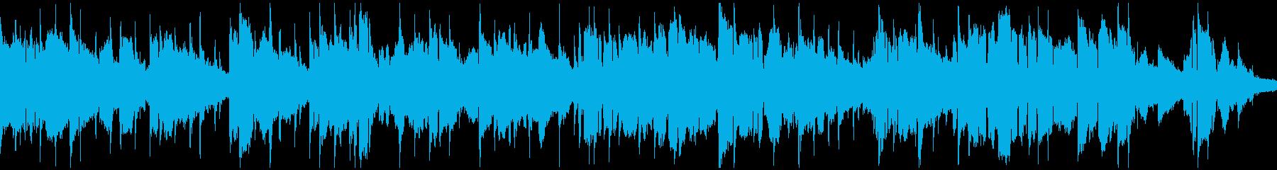 スムースジャズ系のバラード※ループ仕様版の再生済みの波形