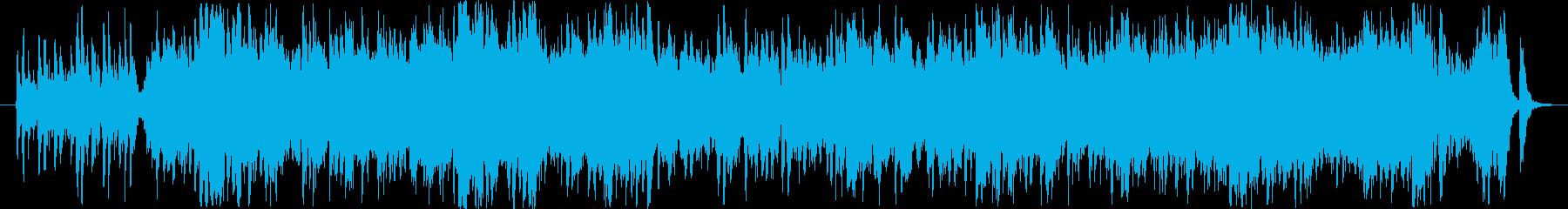 軽快なピチカートワルツファンタジーの再生済みの波形