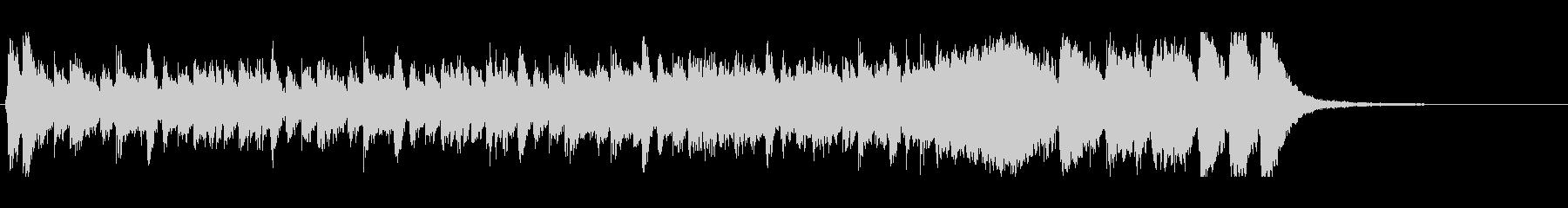 ハリウッド系アイキャッチ03の未再生の波形