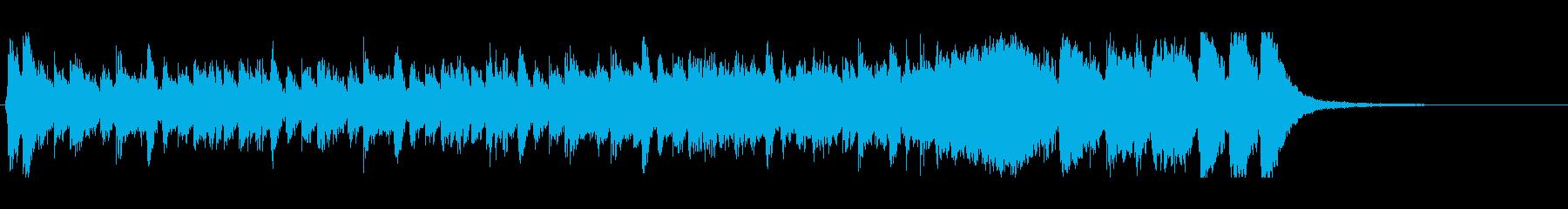 ハリウッド系アイキャッチ03の再生済みの波形