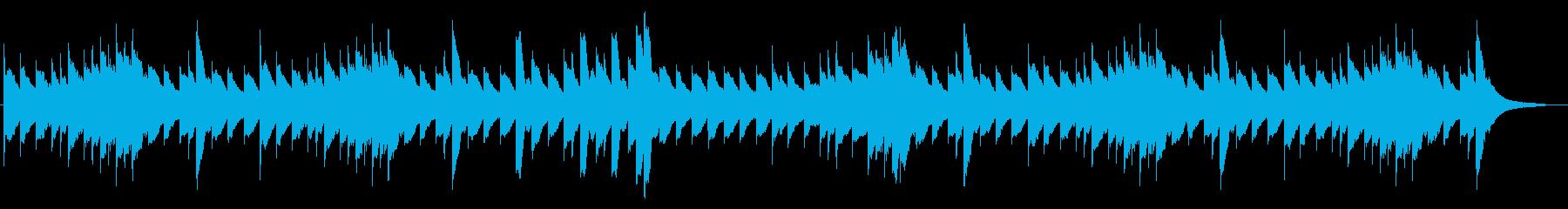 憂鬱なメロディーを奏でるオルゴールの再生済みの波形