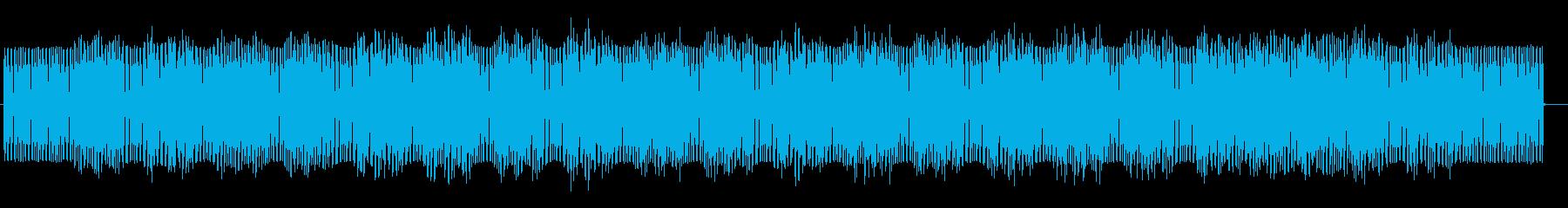 不思議奈世界が広がるシンセの曲の再生済みの波形