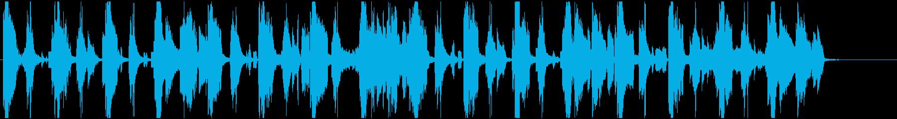 モータウン調ハッピーなR&Bジングルの再生済みの波形