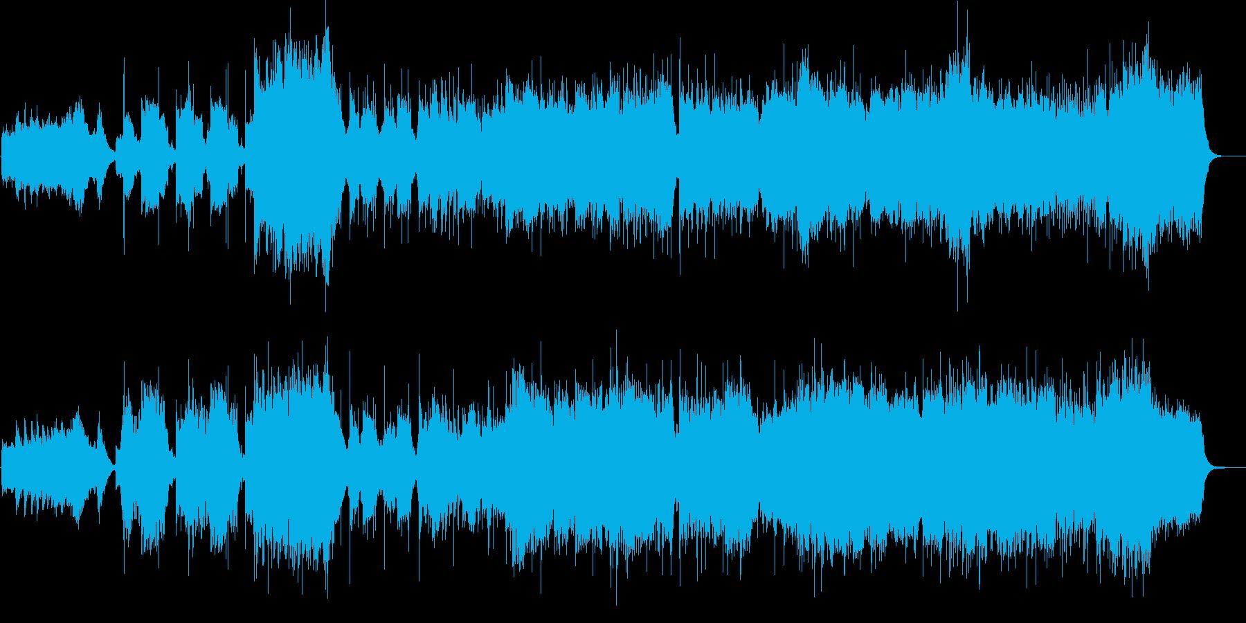 和風 サムライ 尺八 琴 和太鼓 ロックの再生済みの波形