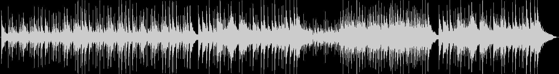 ナイロンとスチールの弦を使用したア...の未再生の波形