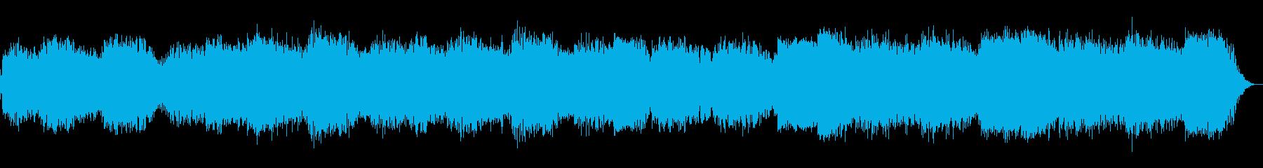 ヒーリング音楽が夢の中へと誘ってくれますの再生済みの波形