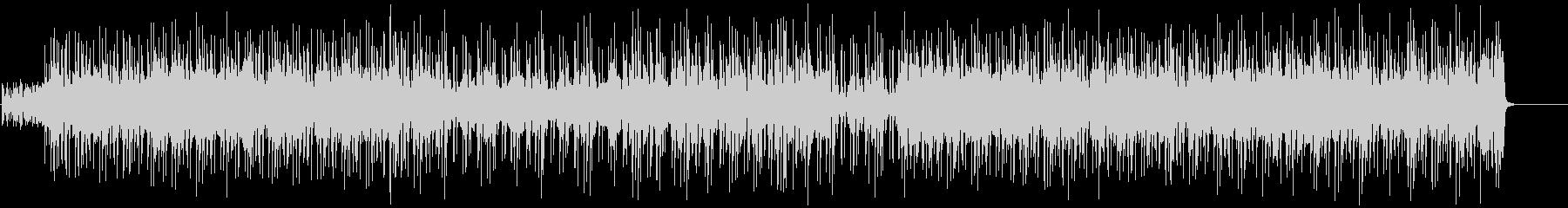 ブルージーでクールなアコギロックの未再生の波形