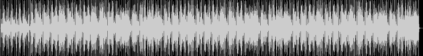 日常風景的な可愛くポップなBGMの未再生の波形