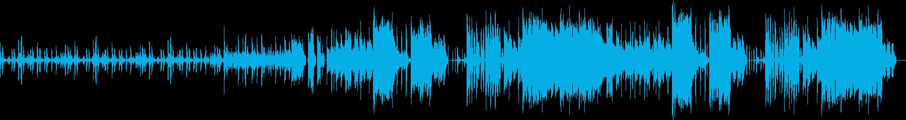 ダブステップdudstepの再生済みの波形