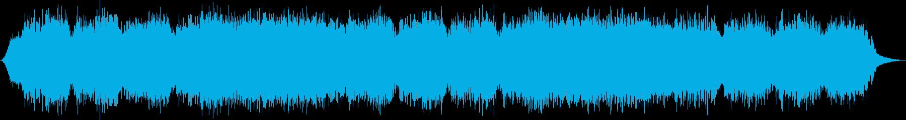 水しぶきで高いリラックス効果の再生済みの波形