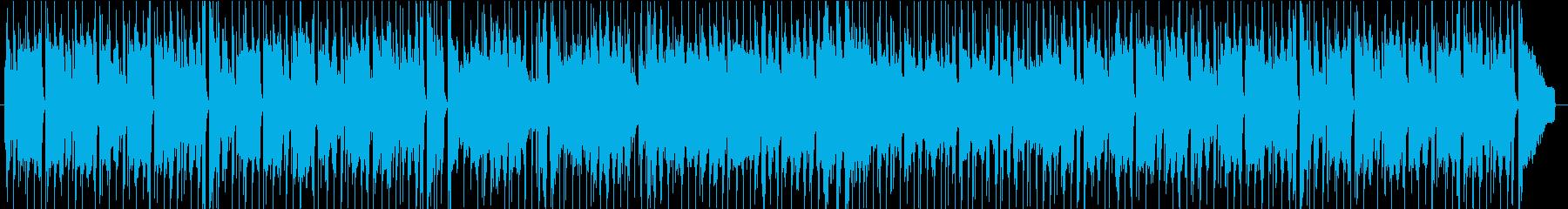 アニメ、CM、ほのぼの、なんとかなるの再生済みの波形