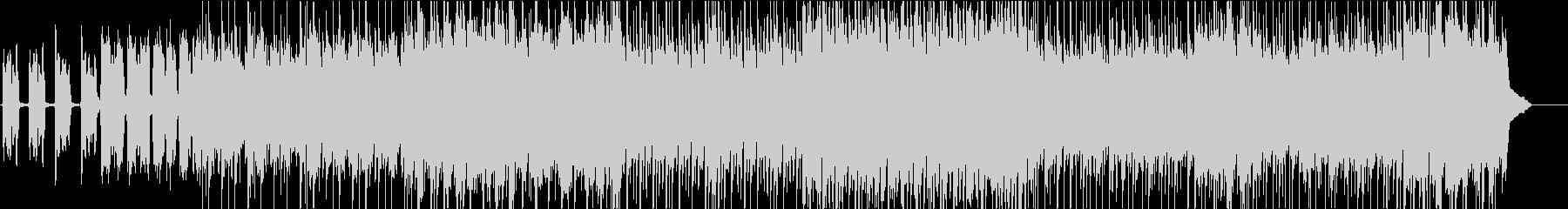 ガムラン音楽のようなエスニック風インストの未再生の波形