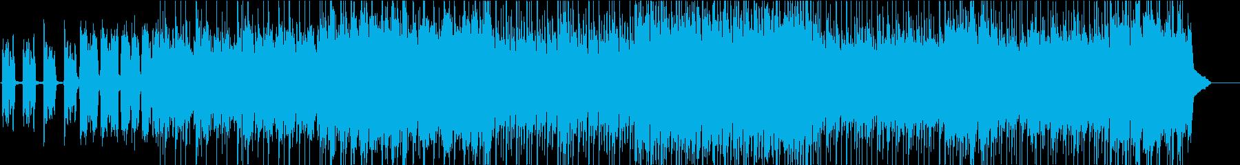 ガムラン音楽のようなエスニック風インストの再生済みの波形