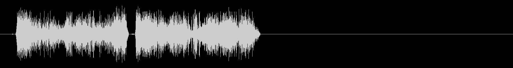クイックスクランブルカットトランジ...の未再生の波形