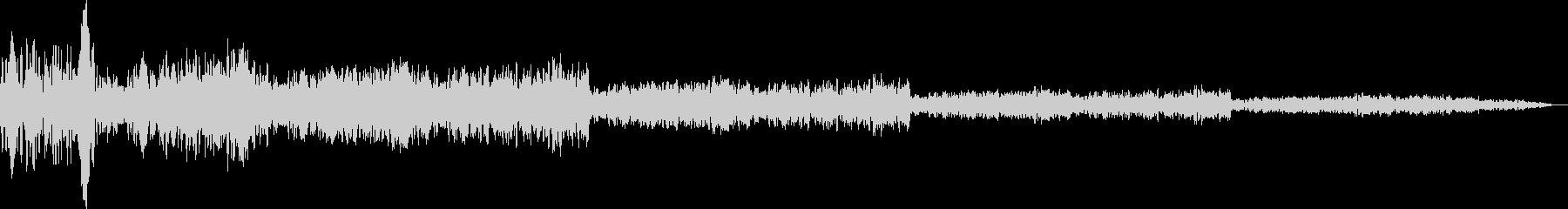 エアフィルタースイープ共振遅延フェード1の未再生の波形