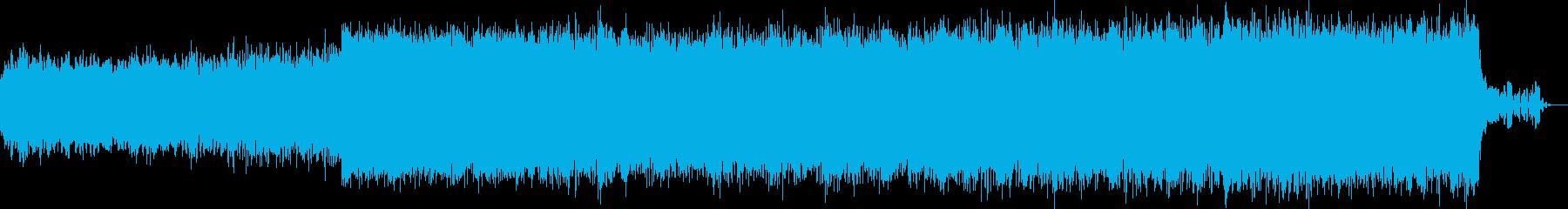 宇宙系近未来エレクトロニカ スローテンポの再生済みの波形