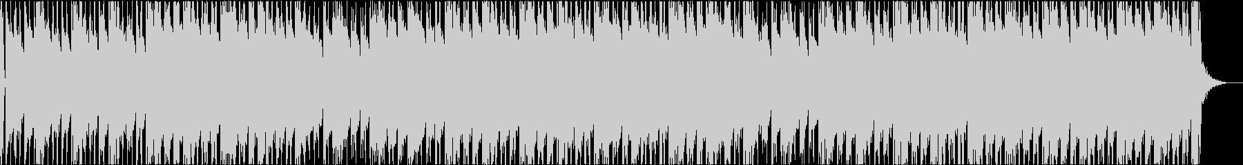 エレピとヒップホップビートのオシャレ曲の未再生の波形