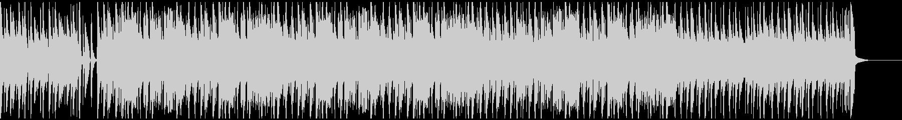 ウクレレと口笛のシンプルで明るいBGMの未再生の波形