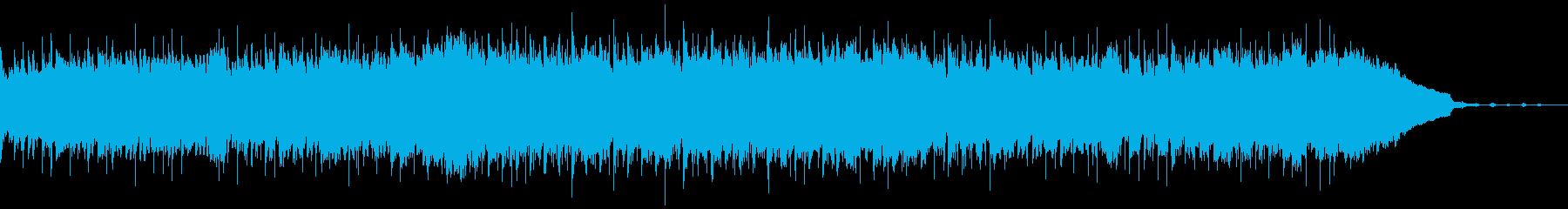 コミカルで明るいCMにぴったりのブルースの再生済みの波形