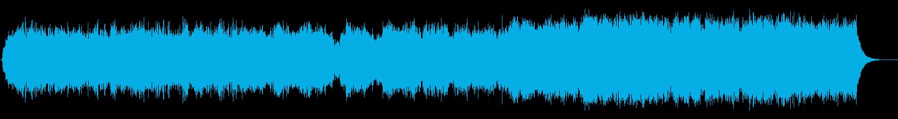 壮大なストリングスの再生済みの波形