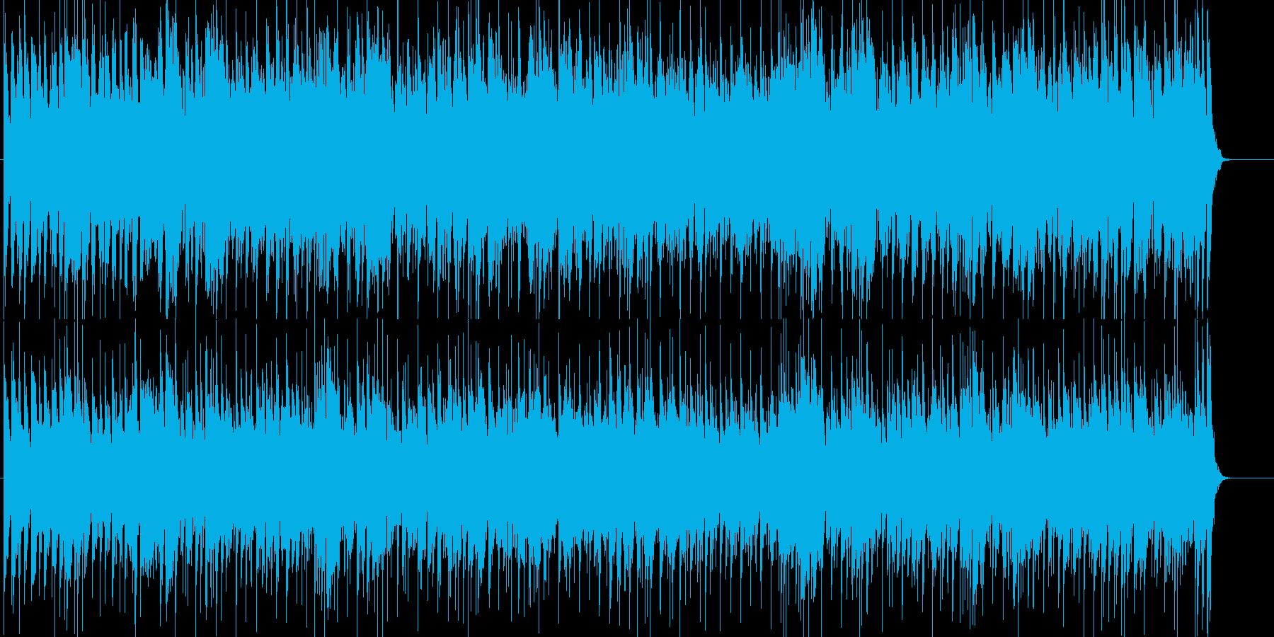 サックスとエレピが印象的なフュージョンの再生済みの波形