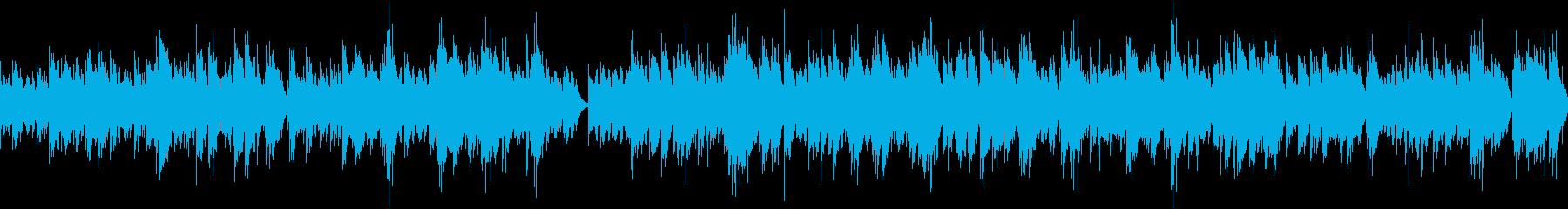 サロン・教育・説明 爽やかピアノ/ループの再生済みの波形